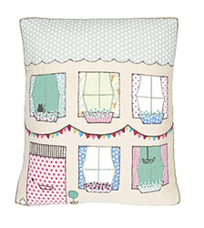 scrapbook home sweet home cushion