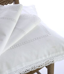 josephine white lace duvet cover and pillowcases