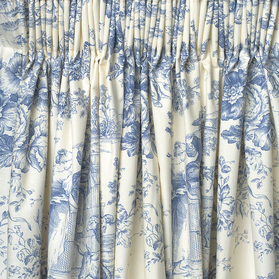 French Country Toile Shower Curtain - ShopWiki