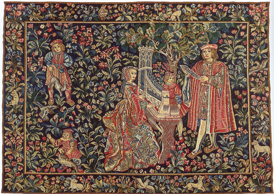 Flemish Tapestries And Wall Hangings At Linens Lace And