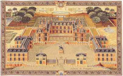 chateau of versailles wall hanging