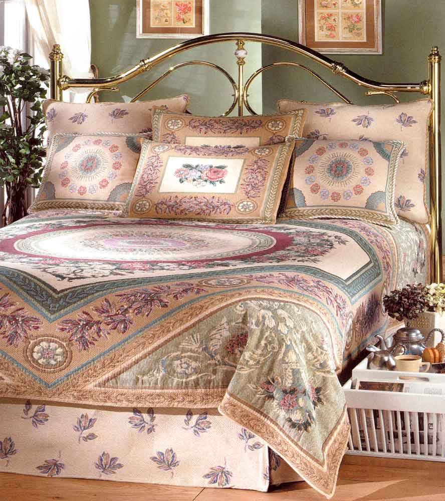 Lovely Josephine Tapestry Bedspread