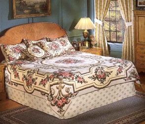 aubusson tapestry bedspread