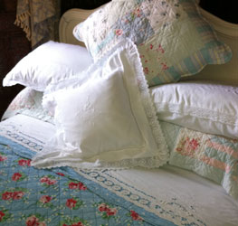crochet lace bedding