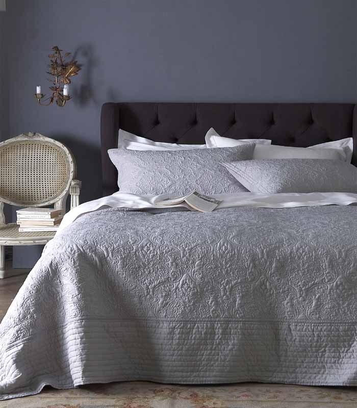 super king bedspreads from linen lace and patchwork