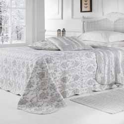 chloe patchwork toile bedspread