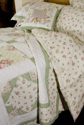 molly patchwork bedspead and duvet cover