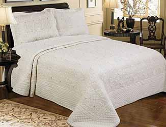 harvard cream superking bedspread