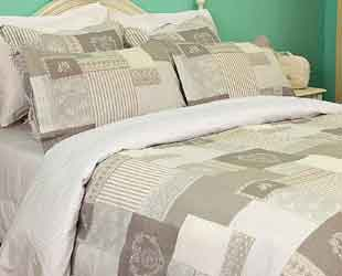 keighley natural bedspread and matching bedding