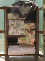 fair trade quilts and bedspreads