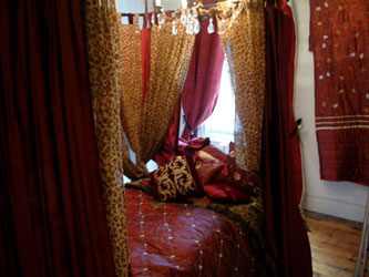 Showrooms at linen lace and patchwork bedspreads for Burgundy and gold bedroom designs