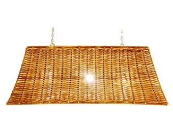 henley rattan lampshade