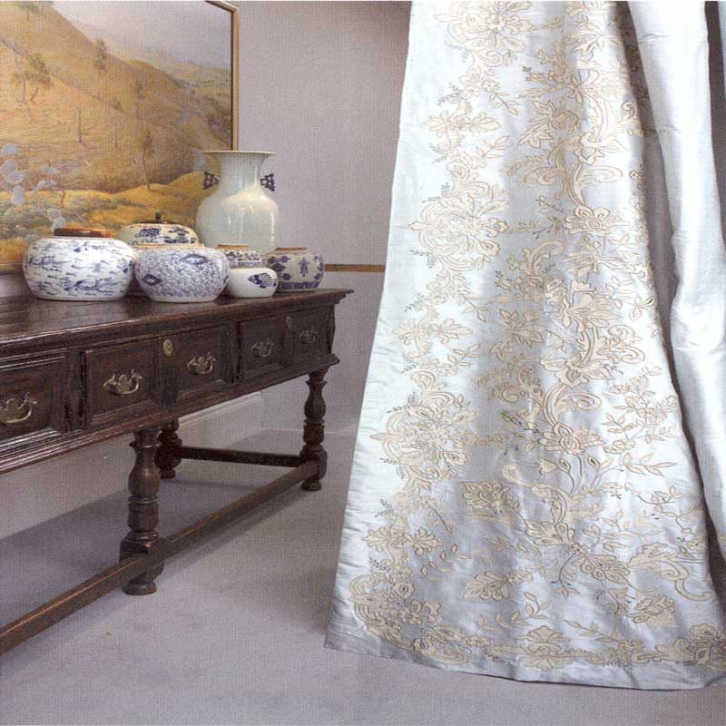 embroidery ivory fashion customize gold flower roman royal and design curtains window jacquard shop luxury curtain item cloth blind style organza white ancient golden quality blending