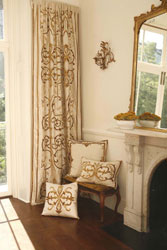 exquisite silk and velvet curtains and window treatments for a stunning visual effect