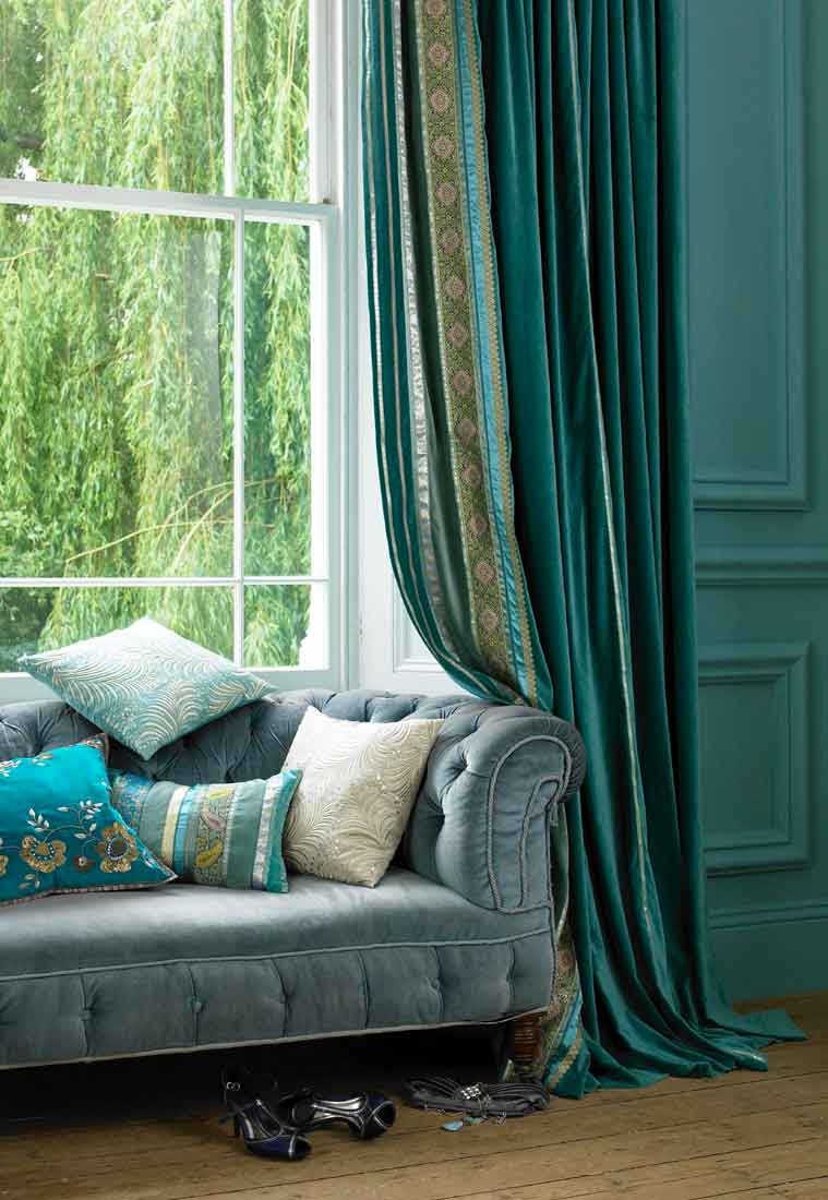 for brown velvet curtains on a limited budget as these curtains are ...