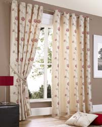 notting hill eyelet curtains