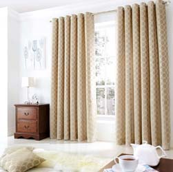 oh cream eyelet curtains