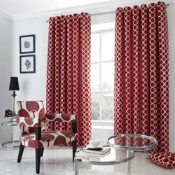 oh red curtains