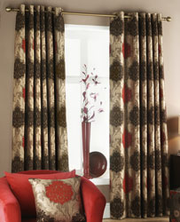 rome saffron made to measure curtains from jeff banks
