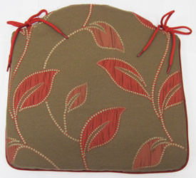 moscow peony seat pad