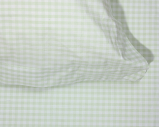 green gingham duvet covers and pillowcases
