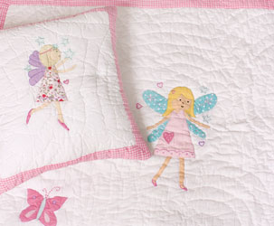 fairy childrens bedspread