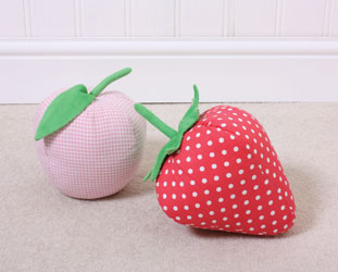 fruity door stops