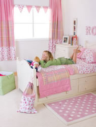 rosie young girls pink girlie bedroom furnishings and bed linen