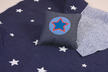 stars blue bedroom furnishings for boys