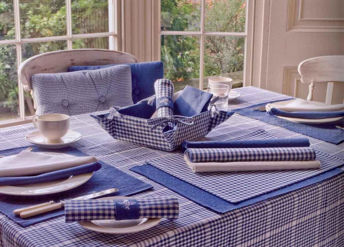 Ideal chair seat pads with matching tablecloths and place mats from  TD69