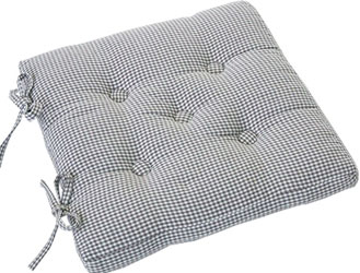 auberge buttoned seat pad cobble