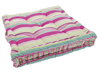 calypso stripe mattress seat cushion