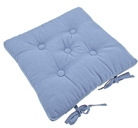 cobble cove blue  seat pad