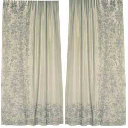 juliet ivory silk curtains
