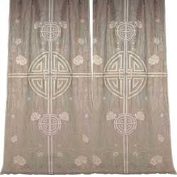 shanghai linen curtains