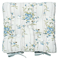 bluebell cottage buttoned seat pad