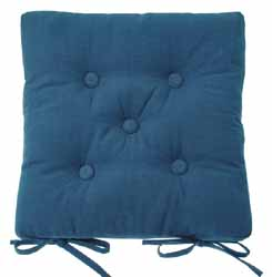 metro denim blue seat pad