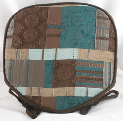 morocco patchwork seat pad