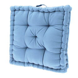 polperro coastal blue mattress seat cushion pad