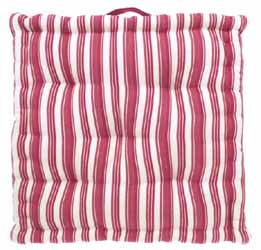 twill raspberry mattress seat cushion