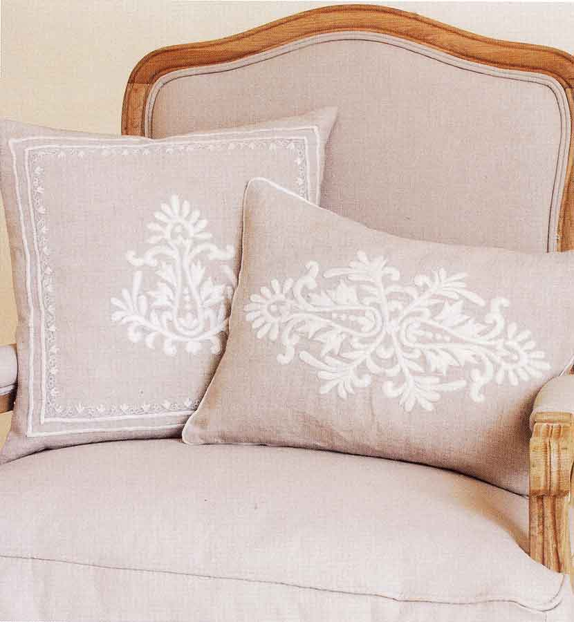 cushions at linen lace and patchwork in a wide range of. Black Bedroom Furniture Sets. Home Design Ideas