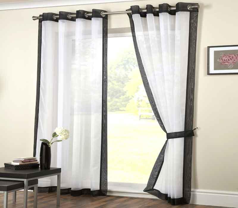 Voile Curtain Panels