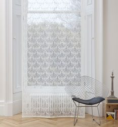 scottish lace window panel
