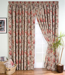 magnolia pencil pleat ready made curtains