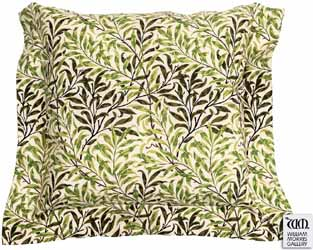 willow bough green oxford seat pads